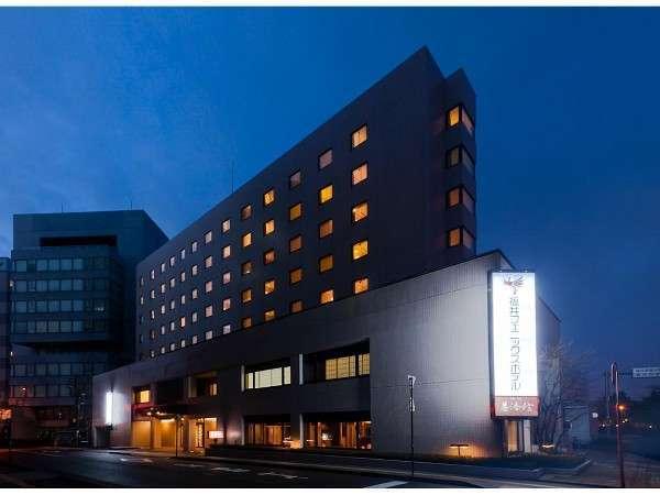 福井フェニックスホテルの夜景