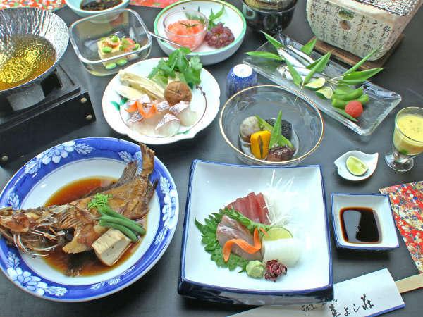 コースイメージ★鮮度と旬にとことんこだわっているため食材は四季折々異なります!