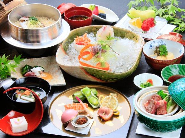 若松の料理は、茶事における「三キ」のおもてなしの心が宿ります。