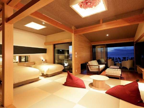 お部屋Dタイプ「夢に抱かれて」客室