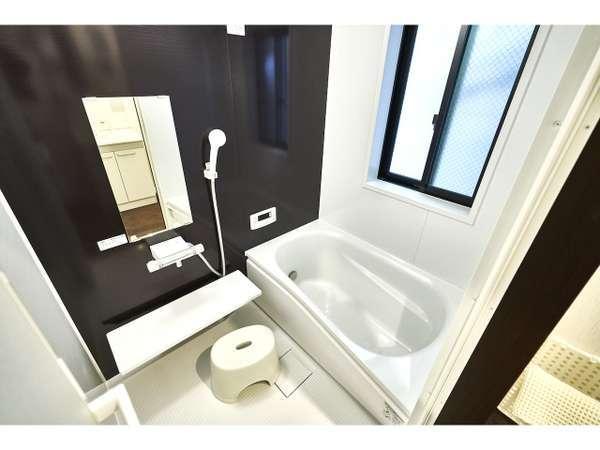 浴槽も旅の疲れを癒せるような快適さを追求しております