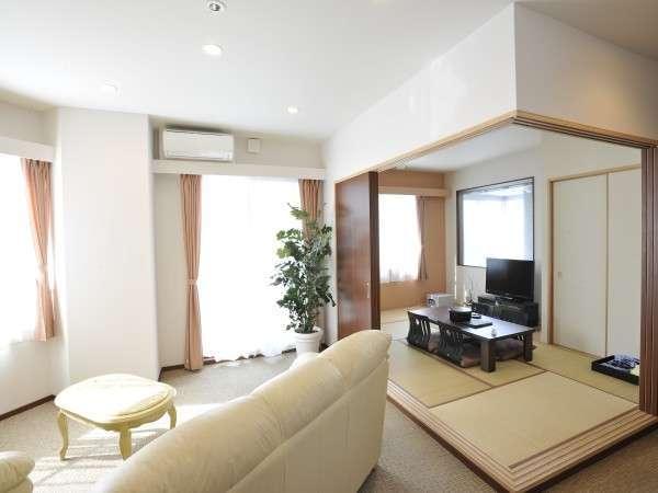 【新館】全3室の展望風呂付和洋室。最上階(10階)から絶景を満喫!