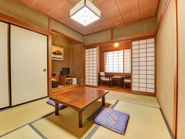 **和室6畳(一例)ご到着後はのんびりとお寛ぎください。