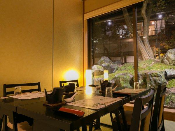 【庭園で四季を愛でる宿 聴泉閣 かめや】諏訪大社に隣接する全9室の静かな湯宿~夕朝食ともに個室対応中