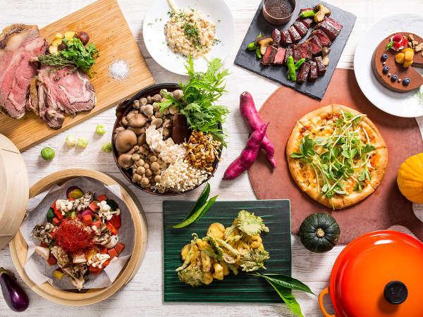 滋賀食材×きのこ びわプリ秋味ディナーブッフェ 2019年8月27日~10月26日
