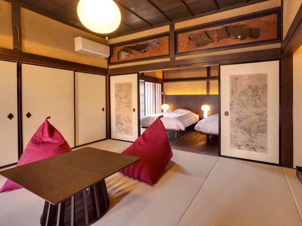 【欅101】襖絵や欄間、二間床など随所に伝統と格式が息づく元貴賓室