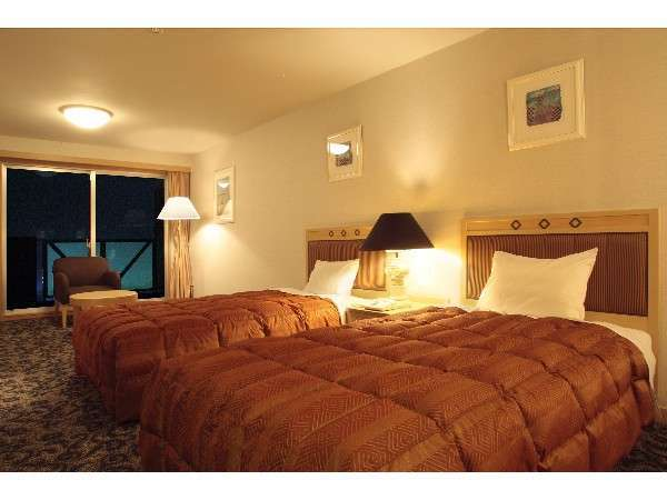 エグゼクティブスイート:117.8㎡のゆとりある特別なゲストルーム(寝室)