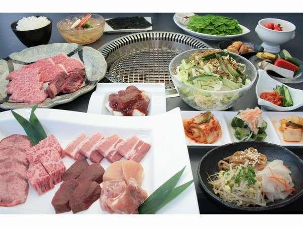■焼肉グレードアップコース※イメージ