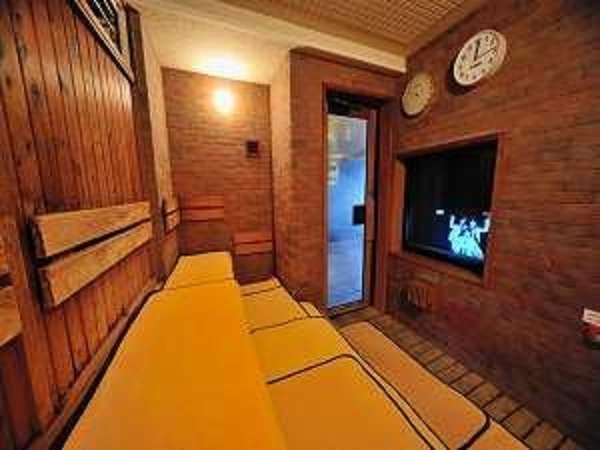 ■男性大浴場サウナ【深夜1:00~5:00までは休止致します】