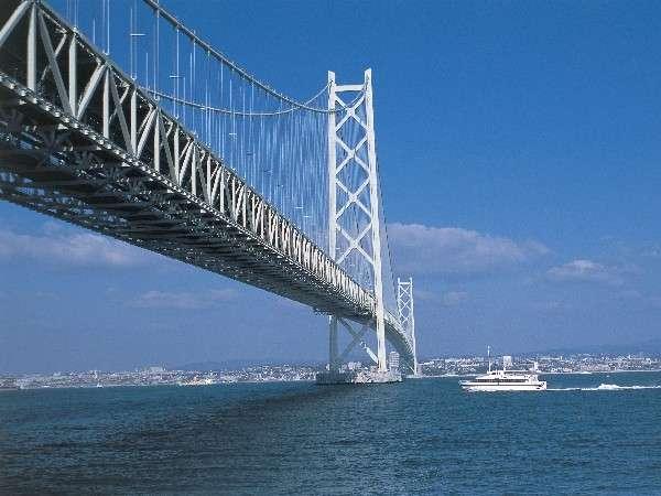 明石海峡大橋(舞子駅前)まで車15分