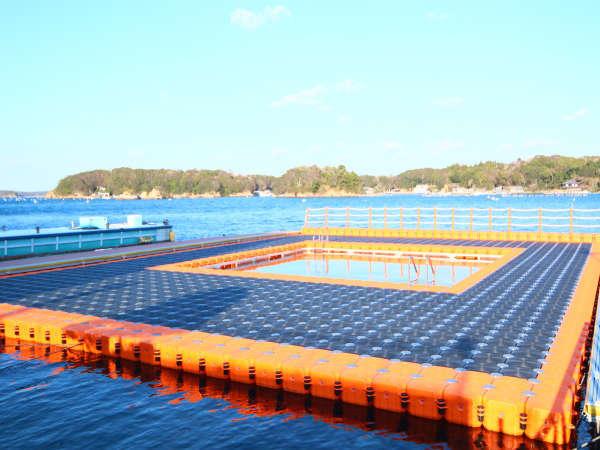 【海水プール】7月~8月は一楽温泉ホテル自慢の海水プールがオープン!