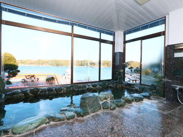 ◆榊原温泉◆岩風呂の大浴場がございます。マッサージ効果があり、ハリ・ツヤのある肌を生み出します♪