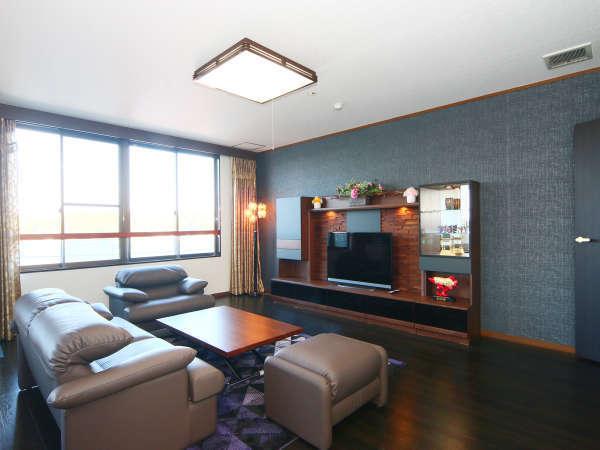 【VIPルーム】和モダンな雰囲気を演出する、VIPにふさわしいワンランク上の空間です。