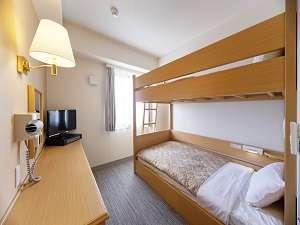 【2段ベッド】広さ:13.0㎡ シングルサイズの2段ベッドです