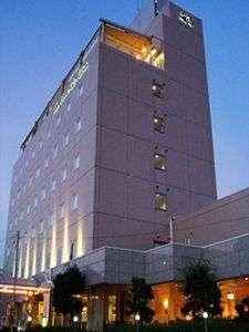 須崎プリンスホテル:外観ライトアップ