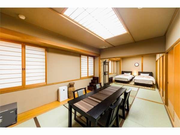 ゆったり広々、和洋室です。