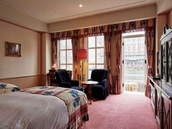【デラックスツイン】優雅に過ごしたい方におすすめのお部屋。