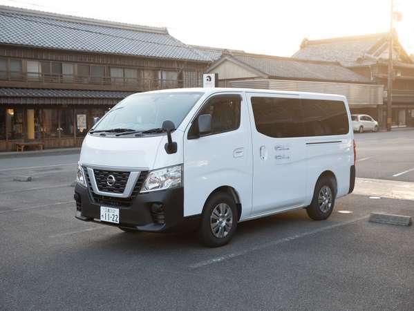 伊勢市駅とホテルの間の無料送迎車が朝夕各3便ございます。ご希望の方はお電話にて