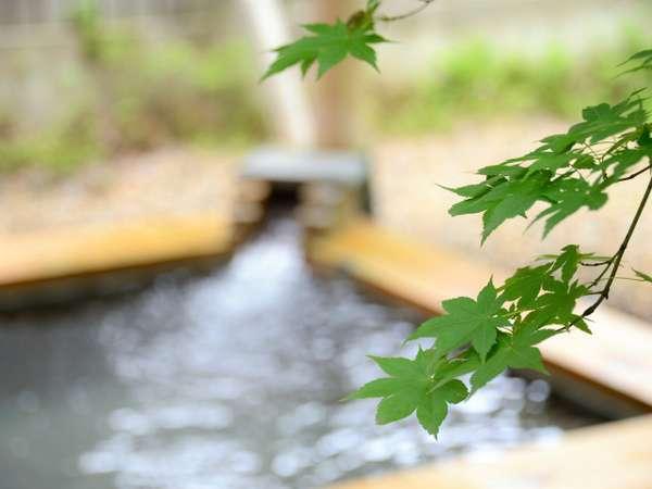 【露天風呂】四季折々の風景を楽しみながらの湯浴みが露天風呂の醍醐味です(^^♪