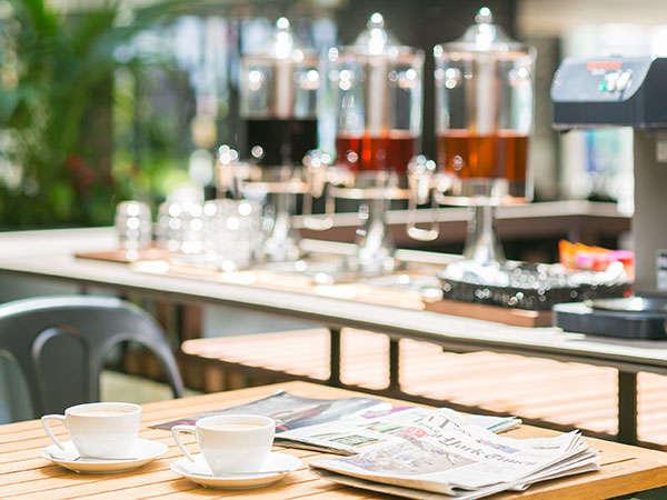 ■Free Cafe Service■10種類を超えるドリンクをご用意。ご滞在中はご自由にどうぞ♪