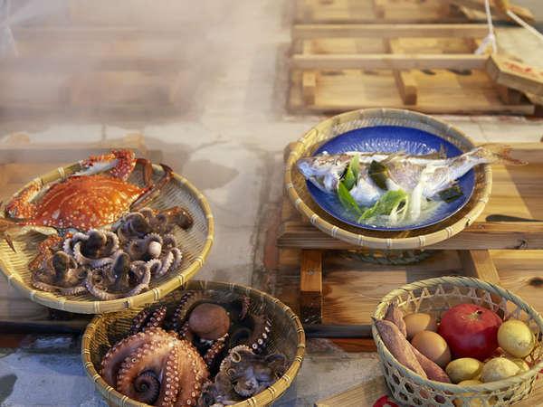 食材によって蒸す時間が異なりますので、タイマーを借りれますよ!