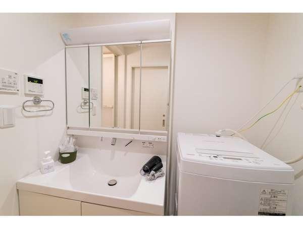 独立洗面台、洗濯機完備★衣類乾燥機は浴室とガスの2種類ございます。※選べません