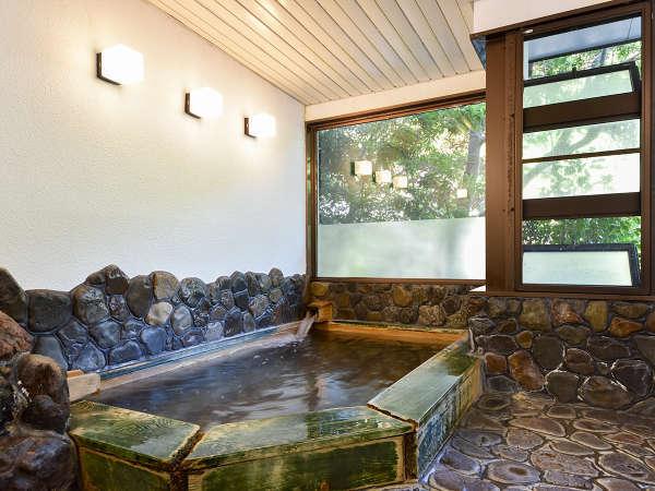 *【大浴場(女湯)】ぬめりのあるお湯は肌に優しく保湿効果も抜群!