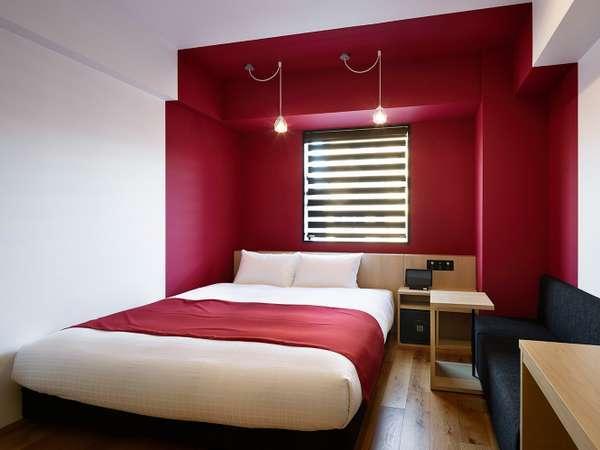 ◆スーペリアダブル◆20平米【ベッド幅180cm×1】 全室エアウィーヴ設置