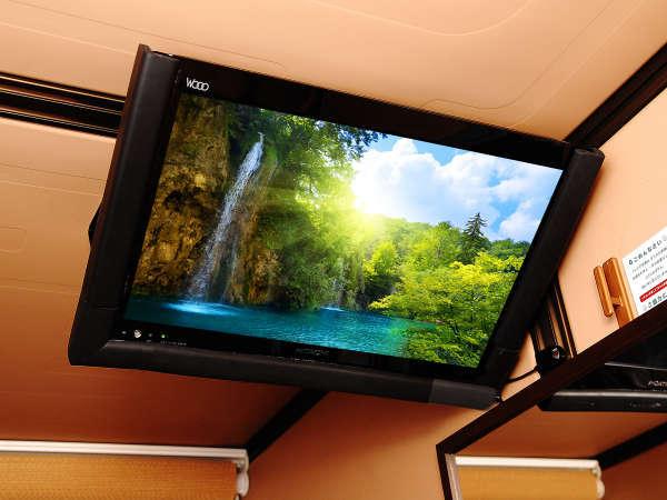 【カプセル内】全室大画面TVを完備♪