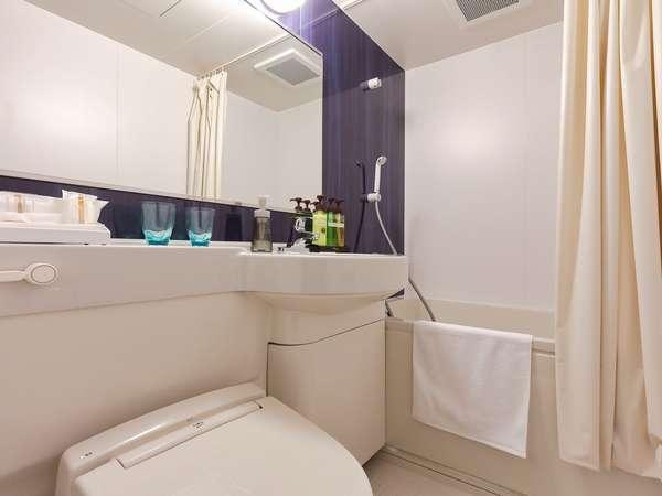全室浴室は広めでゆったりと!