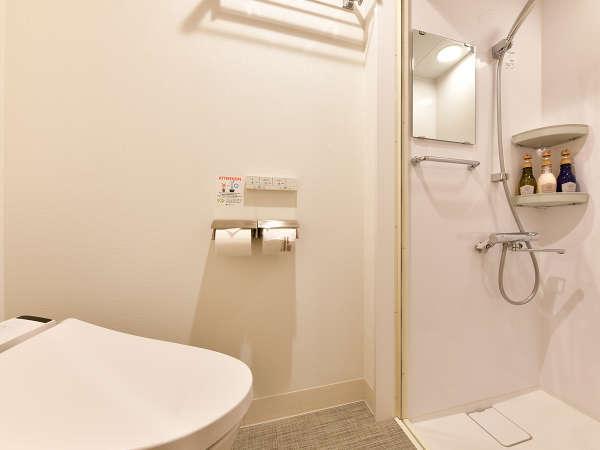 シャワーブースシングル☆お手洗いと浴室