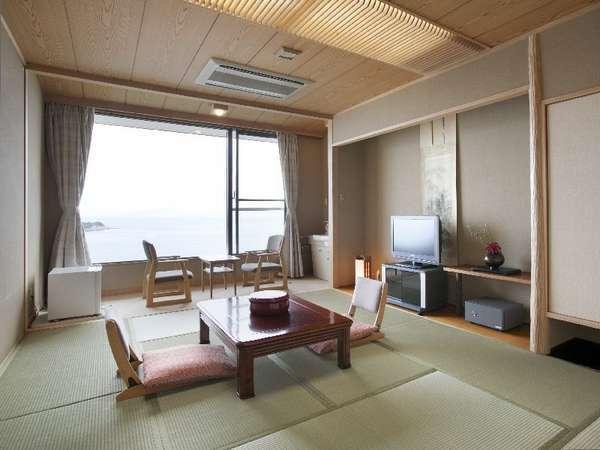 【禁煙☆瀬戸内海一望の10帖和室】部屋からはエンジェルロードが望めます