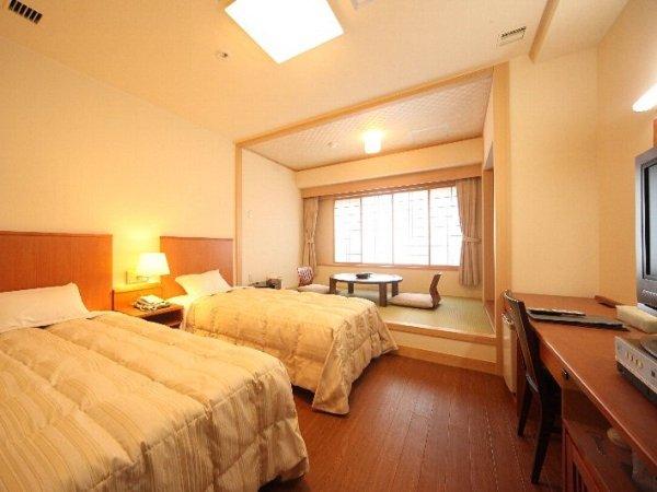 和洋室の一例。床はフローリングで快適