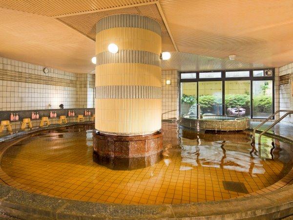 【温泉大浴場】シャンプーバーもお楽しみいただけます。