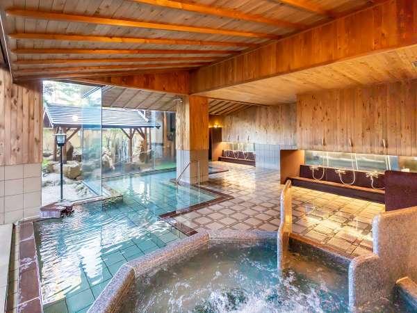 庭園大浴場「清音の湯」