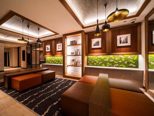 [ロビー]Natural,organic,smartなホテルへようこそ!