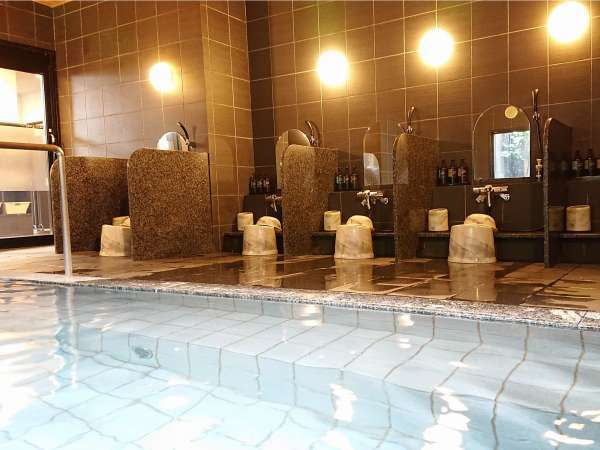 ラジウム人工温泉大浴場 【ご利用時間】15:00~2:00、5:00~10:00