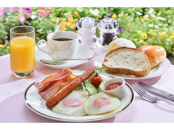 洋食プレート朝食(一例)