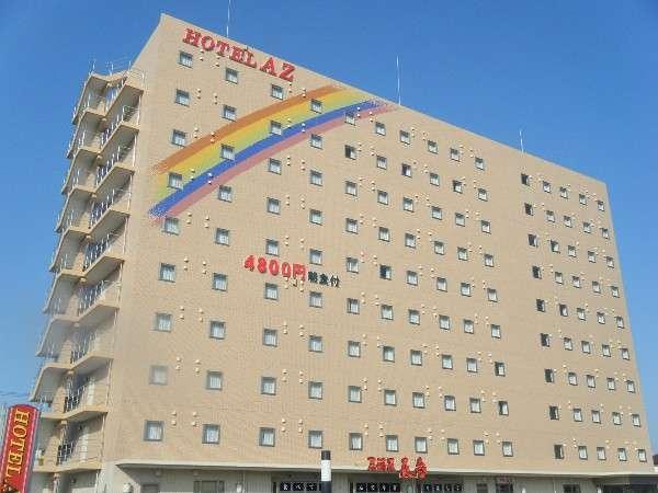 ホテル外観2013年6月新築オープン。