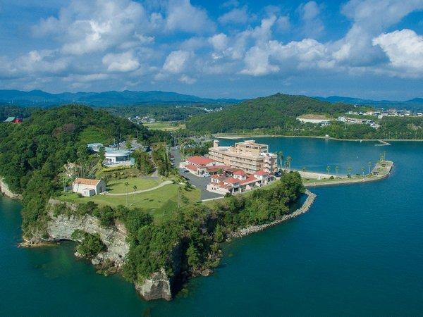 【ホテル アレグリアガーデンズ天草】5万平米の広大な海のリゾートホテル
