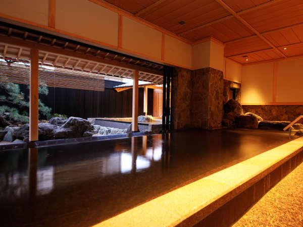 本館・あわじ浜離宮の温泉大浴場「庭の湯」