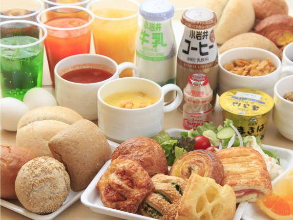 ご朝食はご宿泊の皆さま無料でお召し上がりいただけます