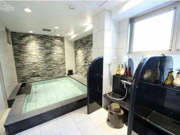 チェックイン時にホテル会員へのご登録でご利用頂ける、浴場施設リフレッシュルーム。