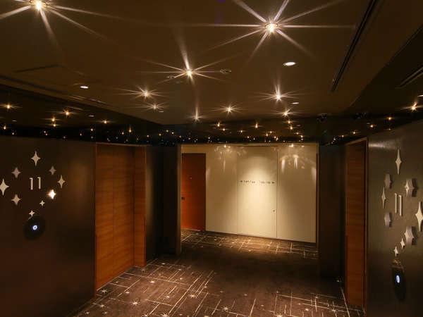 エレベーターホール(高層階)