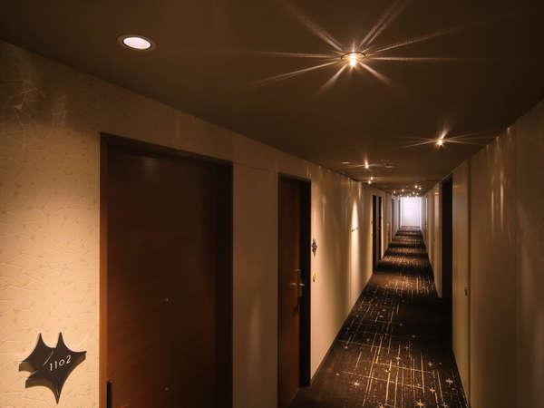 客室フロア廊下(高層階)
