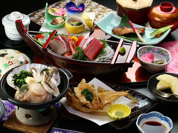 【スタンダード】海の近くならでは!美味しい海鮮料理をお召し上がりください。