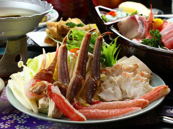 【いわき湯本温泉鮮の宿柏】【県民割プラス対象】夕食口コミ4.6★蟹を食べるなら柏≧[゚ ゚]≦