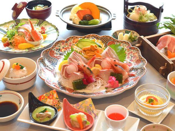 9月~3月◇多彩な美味しさを詰め込んだ!海鮮北前の幸会席