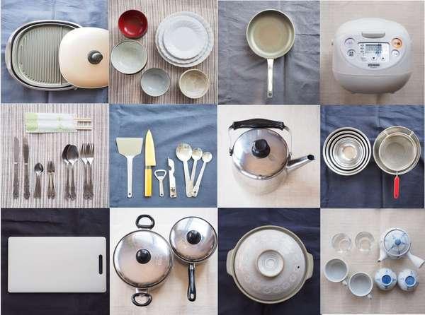 お部屋にある調理器具一例