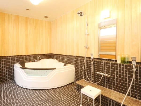 【ジャグジー貸切風呂】ご希望の方はフロントにお申し付けください。